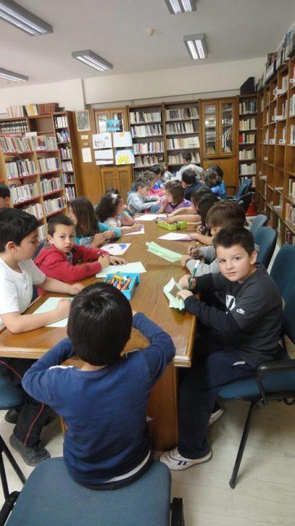 Επίσκεψη μαθητών Β1 και Β2 του 3ου Δημοτικού Σχολείου, ενημέρωση τους σχετικά με τη λειτουργία της Βιβλιοθήκης